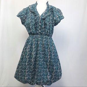 Torrid Shirt dress bubble Hem Dress 16